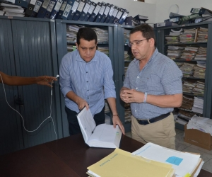 Rafael Martínez posesionó a Jorge Guevara en Secretaría Jurídica.