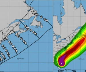 Se conoció que las tormentas tropicales Ferdinan, en el Golfo de México, y Gabrielle, en medio del Atlántico, han entrado en escena.