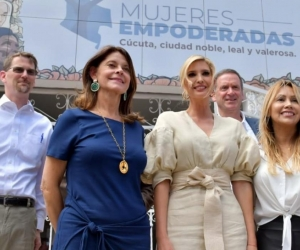 Ivanka Trump y Marta Lucía Ramírez.