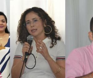 Las secretarias General y de Hacienda y el gerente de Infraestructura.