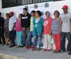 Los detenidos deberán responder por el delito de tráfico, fabricación o porte de estupefacientes.