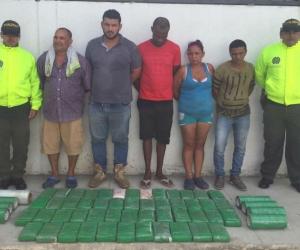Capturados en Puerto Mosquito.