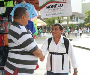 Robinson Morelo, candidato a la gobernación.
