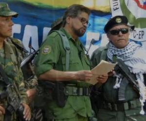 'El Paisa' (izquierda) y 'Jesús Santrich' (derecha).
