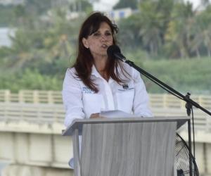 Rosa Cotes, gobernadora del Magdalena