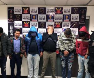 Capturados por las autoridades.