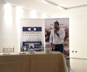 Javier Quintero, gerente de Camacol Santa Marta.