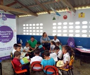 La comunidad de San Javier ha valorado el proceso de construcción de saberes e identidad cultural del territorio alrededor de la palabra y la lectura.