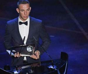 Daniel Szori, delantero del Ferencvaros, fue galardonado el premio Puskas de la Fifa al mejor gol de la pasada temporada.