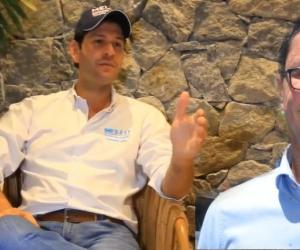 El Mello le mostró disposición a Carlos Caicedo para asistir al debate.