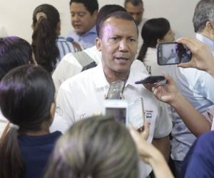 Jaime Cárdenas, candidato a la Alcaldía de Santa Marta.