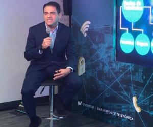 Presidente de Telefónica Movistar Colombia, Fabián Hernández.