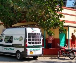 Lugar donde fue asesinada Julieth Patricia Criado