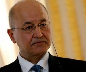 Barham Saleh, presidente de Irak.