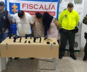 Capturados en Riohacha.