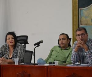 Mesa directiva del Concejo de Santa Marta