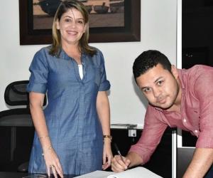 Andrés Correa Sánchez toma posesión como Secretario de Promoción Social, Inclusión y Equidad del Distrito.|