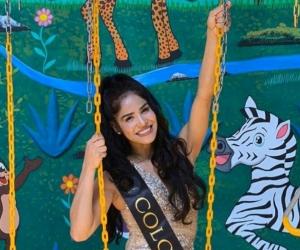 Jesenia Orozco, representante de Colombia