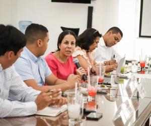 Caicedo  y el máximo órgano directivo de la universidad sostuvieron una reunión en la que se comprometieron a trabajar de forma articulada.