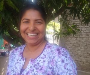 Aurelis Andrade, enfermera del Centro de Salud de Gaira.