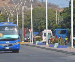 El 28 de enero solo circulará el transporte público y alternativos (bicicleta, patines, etc).