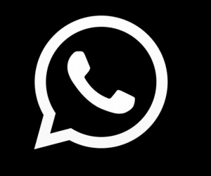 whatsapp oscuro.