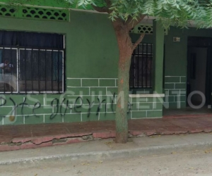 Fachada de la vivienda de Pedro Ramos.