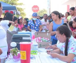 Jornada de Vacunación en el Magdalena