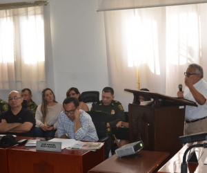 Debate de seguridad en el Concejo Distrital