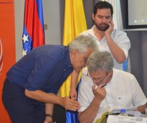 Ministro de Ambiente, Ricardo José Lozano.