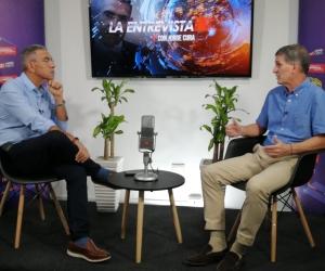 Jorge Cura en La Entrevista a Ernesto Herrera.