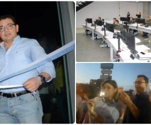 Rafael Martínez, alcalde de Santa Marta, hizo una serie de falsas inauguraciones antes de terminar la Alcaldía.