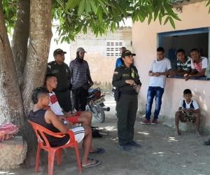 La Policía desplegó un importante operativo con todo su componente institucional con el objetivo de garantizar la seguridad en el sector después de los últimos ataques registrados.
