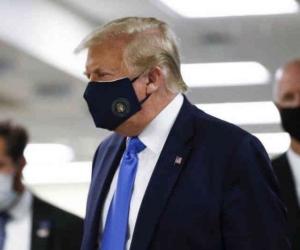 Donald Trump, con coronavirus.