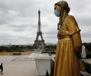 En París se han disparado los casos de covid-19.