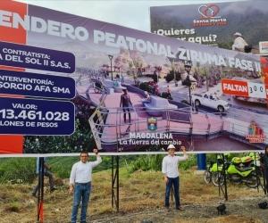 El pasado martes 6 de octubre fue inaugurada la obra sin previa socialización.