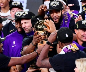 Con este nuevo trofeo el quinteto de los Ángeles igualó a los Boston Celtics como la franquicia más ganadora.