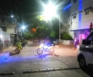 La granada explotó en el barrio el Silencio, de Barranquilla.