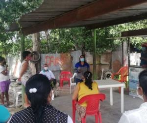 Las 168 familias de estos barrios son acogidas por la empresa Air-e.