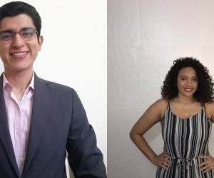 Orlando Rodríguez Buenahora y Victoria Blanquiceth.