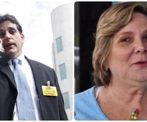 Magda Correa (derecha) criticó la libertad del samario Jorge Noguera.