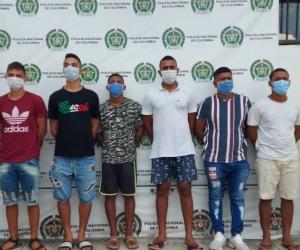 La banda 'Los Extranjeros' estaba compuesta por siete personas quienes se dedicarían al hurto en todas sus modalidades, en especial a extranjeros y turistas en el reconocido sector de Taganga.