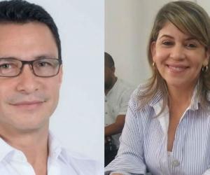 Carlos Caicedo y Virna Johnson.