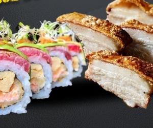 El sushi y el chicharrón se unen para este Festival.
