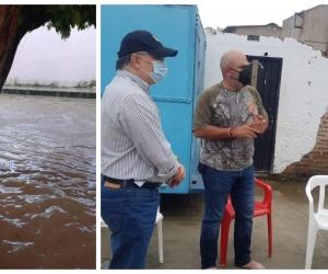 El alcalde Checho Serrano se reunió con el subdirector para el manejo de Desastres de la UNGR.