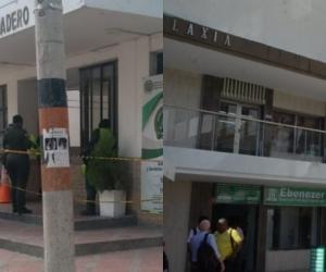 El recluso fue sacado de la estación policial de El Rodadero para una supuesta audiencia.
