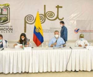 PMU en Fundación.