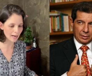 Concejala Andrea Padilla Villarraga y José Félix Lafaurie.