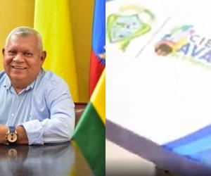 El alcalde lideró la entrega de las tabletas.
