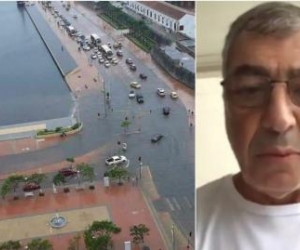Inundaciones en Cartagena - William Dau.